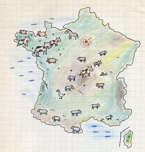 Etalukio Ranska Kurssi 7 Kulttuuri Ranskan Kartta