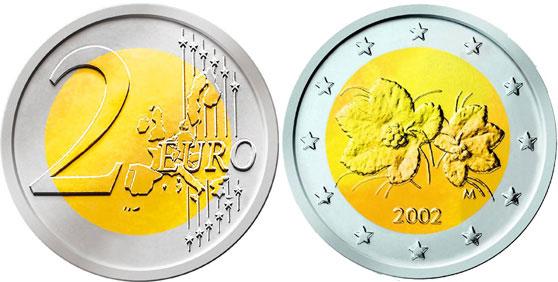 Renkaiden Urasyvyys 2 Euron Kolikko